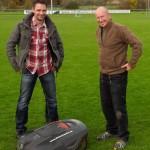 Interview über den Einsatz von Mährobotern als Sportplatzäher